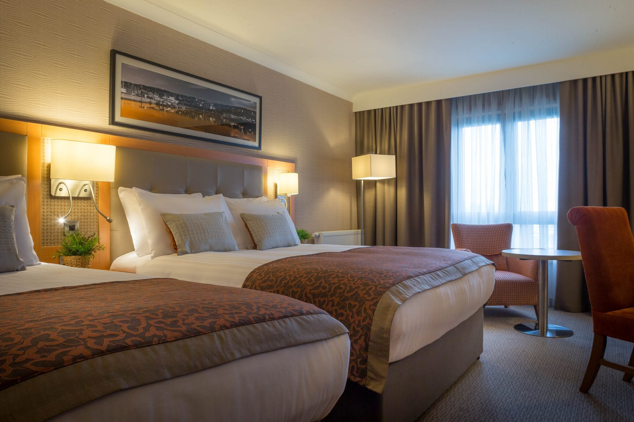 Superior Twin Room at Clayton hotel Leopardstown