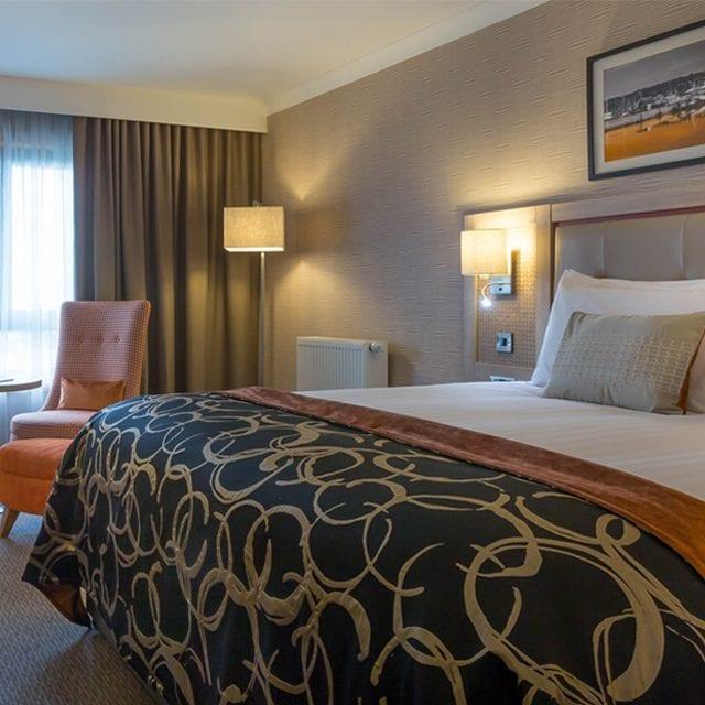 Executive Bedroom in Clayton hotel Leopardstown