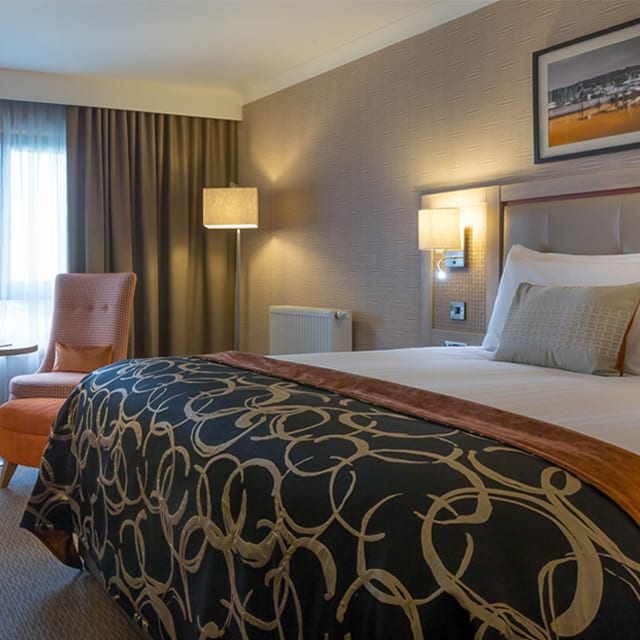 Executive Bedroom in Clayton hotel Leopardstown