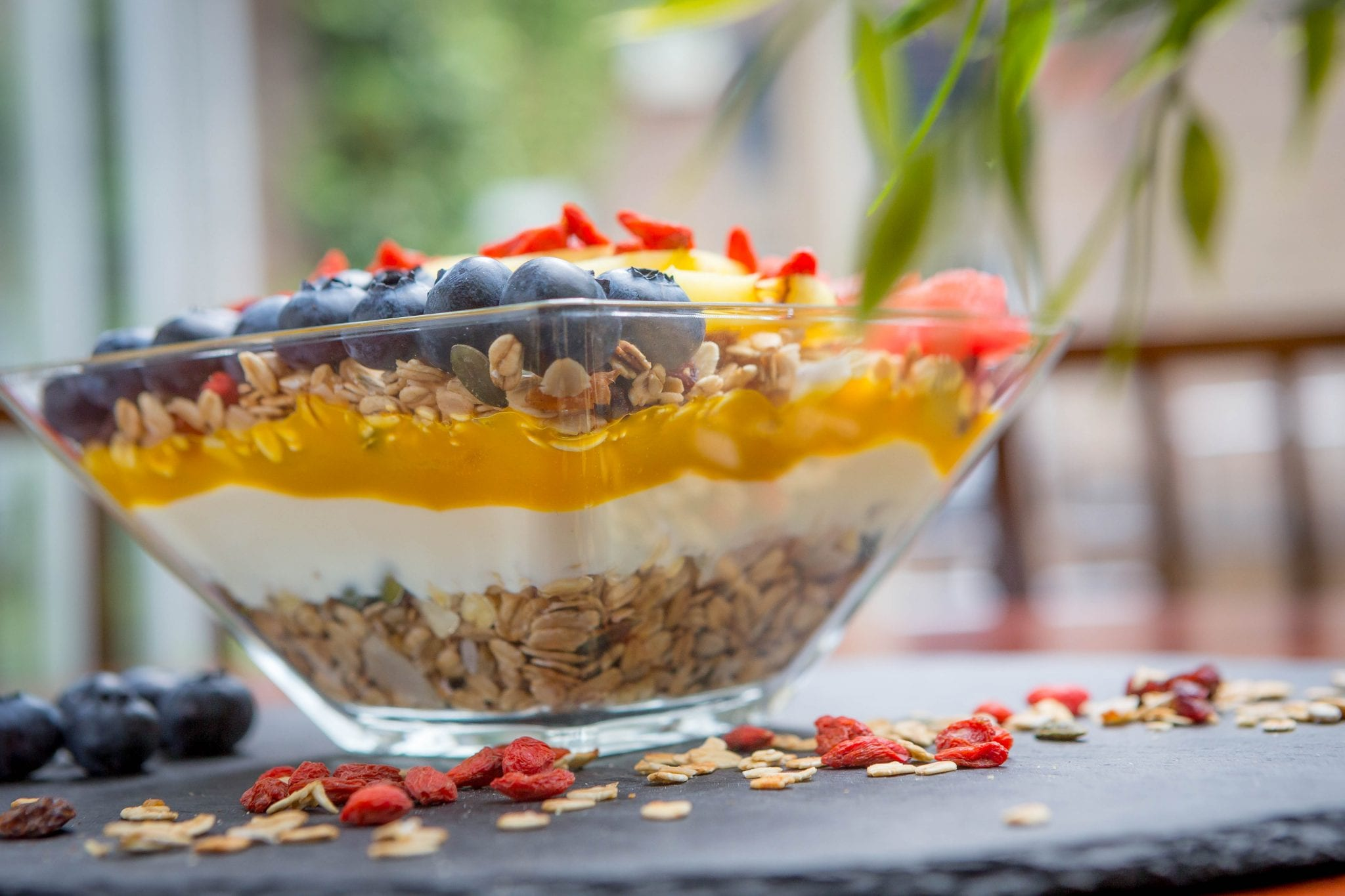 Vitality Breakfast granola bowl