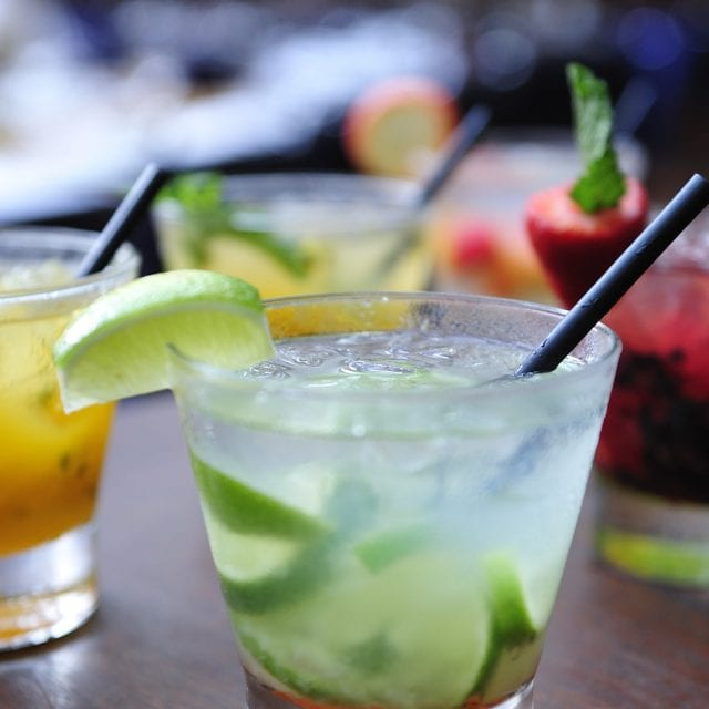 different cocktails at Clayton Hotel in Leopardstown