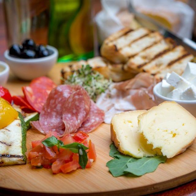 The mezze platter od Vitality breakfast at Clayton Hotel Leopardtown