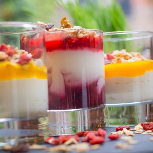 Yogurt at Vitality Breakfast