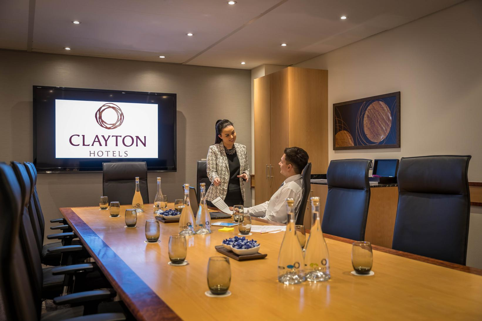 The boardroom at Clayton hotel Leopardstown