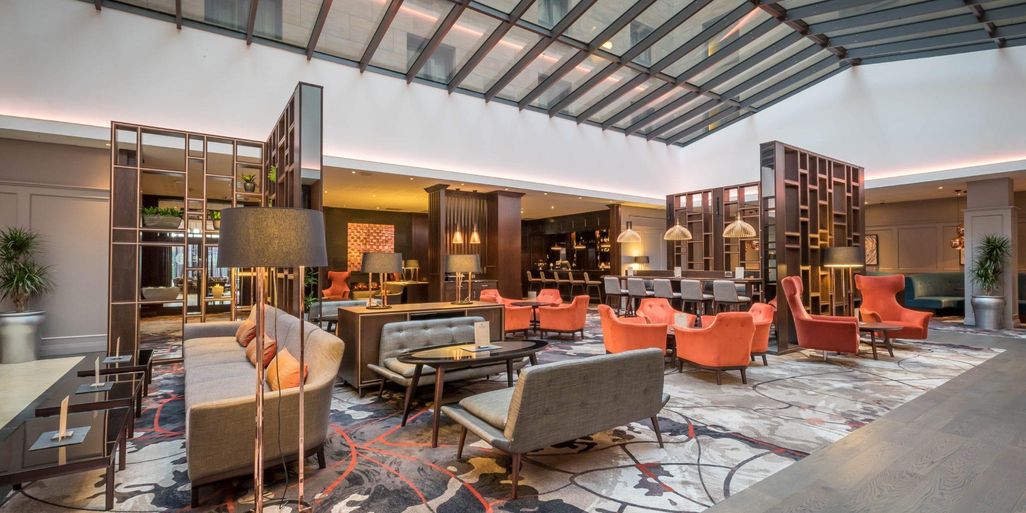 Clayton Hotel Leopardstown Atrium And Lounge