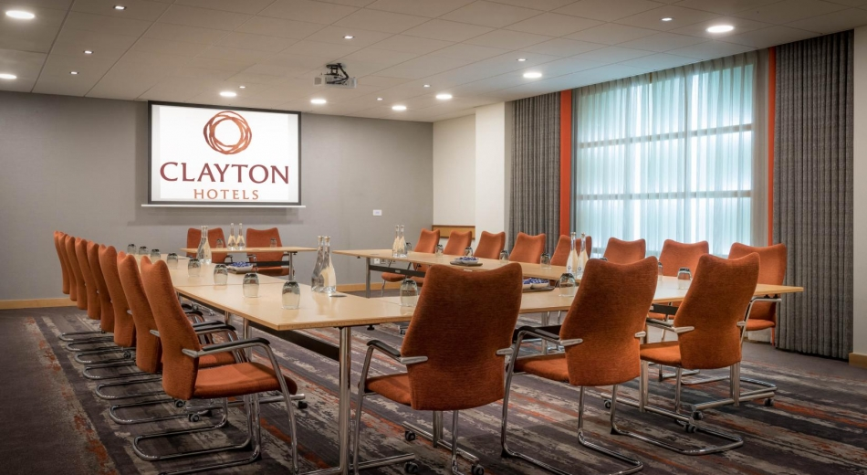 A meeting room at Clayton hotel leopardstown