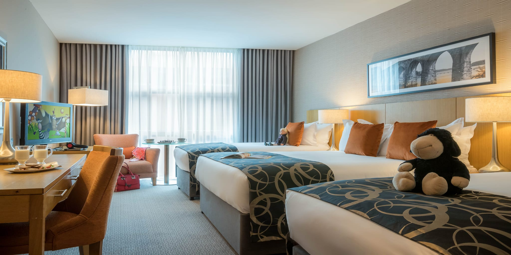 Family Room At Clayton Hotel Leopardstown