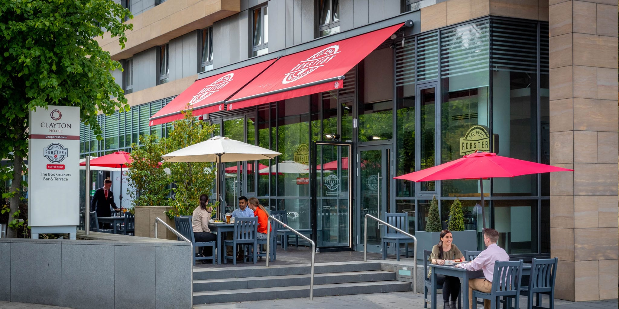 Terrace Area At Clayton Hotel Leopardstown