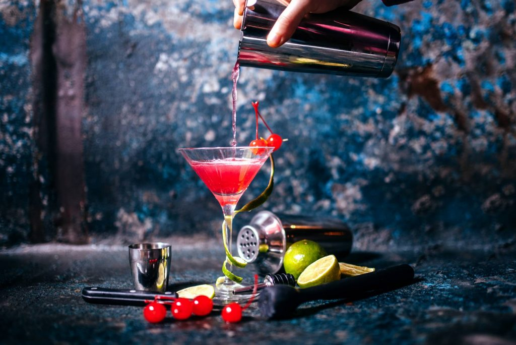 cool cocktail creation